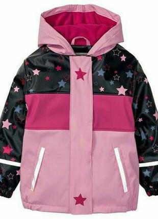 Куртка-дождевик на флисе lupilu 86-92р