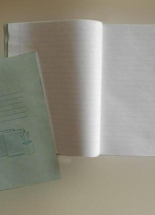 Тетрадь ученическая 18 листов, линия, офсет, мягкая обл., Поли...