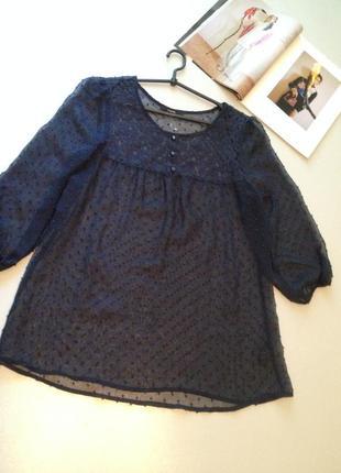 Красивая прозрачная блуза.0268