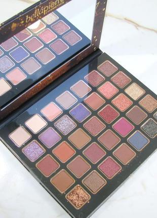 Палетка теней для век bellapierre ultimate nude eyeshadow palette