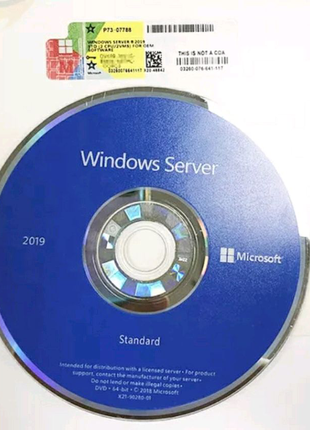 Windows Server 2019 x64 Eng 1pc DVD 16 core