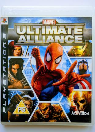 MARVEL Ultimate Alliance PS3 Playstation 3 диск