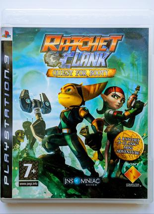 RATCHET & CLANK Quest for Booty PS3 Playstation 3 диск