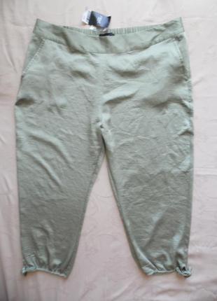 Укороченные брюки, лето next размер 18 – идет на 54-54+.