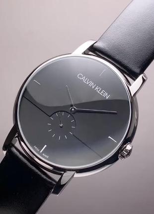 - 54% | мужские швейцарские классические часы calvin klein k9h2x1