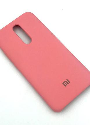 Чехол XIAOMI RedMi 8 Silicon Case Pink