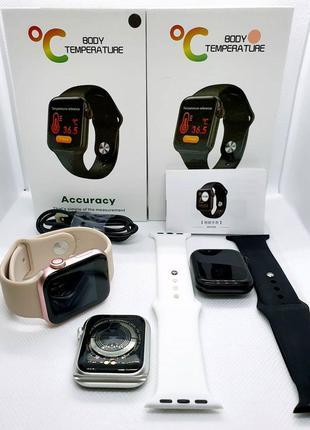 Аналог яблочных часов! Умные часы Apple iWatch Tito 2S Black/Pink
