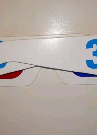 3D очки анаглифные