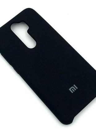 Чехол XIAOMI Redmi Note 8 Pro Silicon Case Black