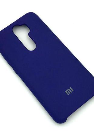 Чехол XIAOMI RedMi Note 8 Pro Silicon Case Blue