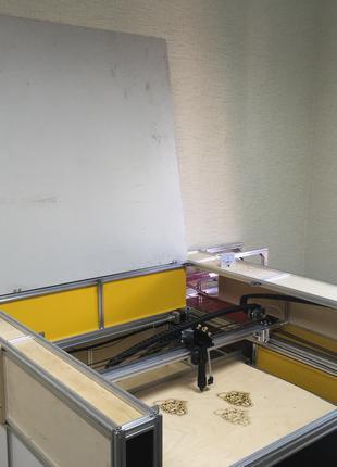 Лазерный станок гравер ЧПУ (80W)