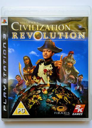 Sid Meier's CIVILIZATION Revolution PS3 Playstation 3 диск