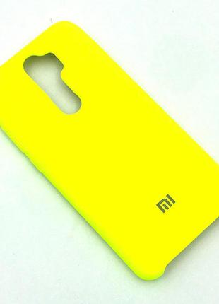 Чехол XIAOMI RedMi Note 8 Pro Silicon Case Light Yellow