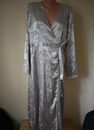 Шикарный набор  халат и ночная рубашка большого размера