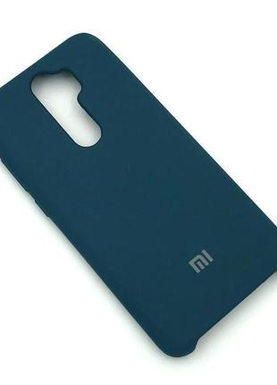 Чехол XIAOMI RedMi Note 8 Pro Silicon Case Midnight Blue
