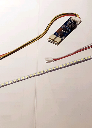 Набор для LED подсветки (2 ленты + GYD-9E)