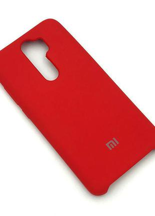 Чехол XIAOMI RedMi Note 8 Pro Silicon Case Red