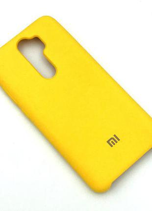 Чехол XIAOMI RedMi Note 8 Pro Silicon Case Yellow