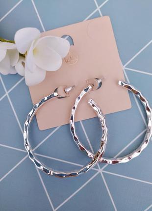 Сережки кільця, серьги кольца от missguided с сайта asos