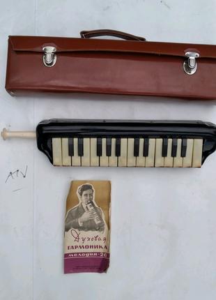 Духовуя гармоникА Мелодия - 26 пианика