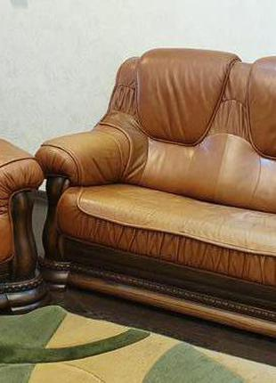 Мягкая мебель. Кожа