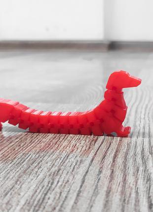 """Гибкая развивающая игрушка для детей """"Такса"""""""