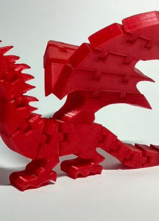 """Гибкая развивающая игрушка для детей """"Дракон"""""""