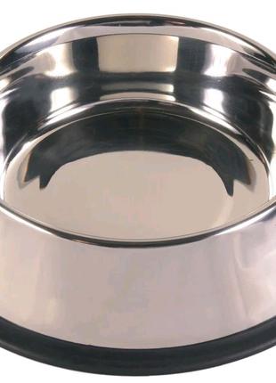 Миска металлическая для собак или кошек