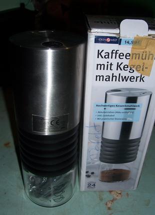Электрическая кофемолка,IDEENWELT 731D1, нержавеющая сталь, USB