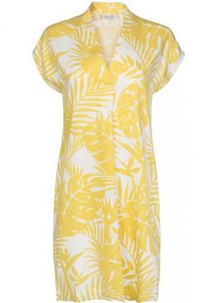 Легкое платье из натуральной вискозы от one two luxzuz