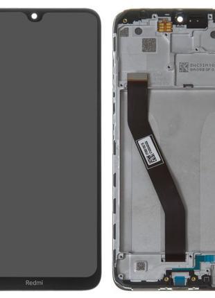Дисплей Xiaomi Redmi 8/ Redmi 8A с сенсором черный + РАМКА!