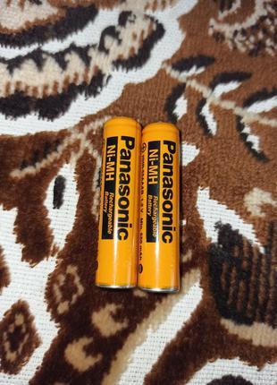 Аккумуляторные батарейки panasonic aaa