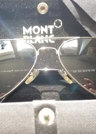 Montblanc авиатор очки мужские