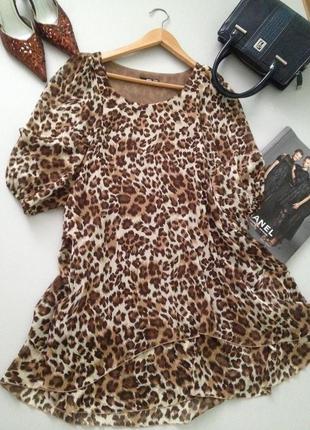 Шифоновое платье туника свободного покроя 0006 англия