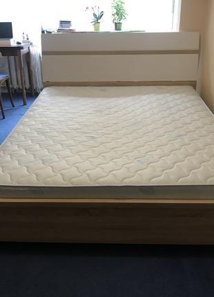 Кровать, ортопедическое основание под матрас и матрас
