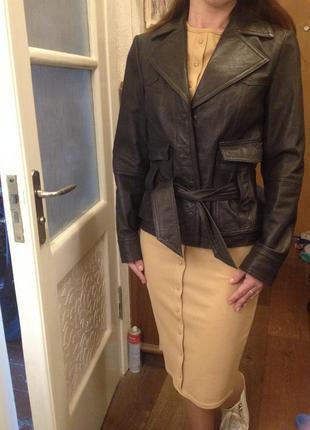 Куртка-пиджак apart (кожа)