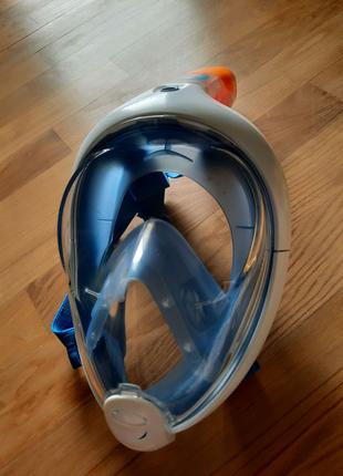Оригінальная маска easybreath для сноркелинга