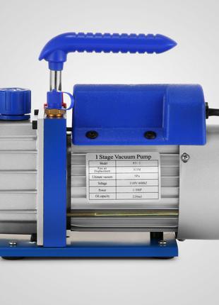 Вакуумный насос 85 л/мин одноступенчатый 1/4HP
