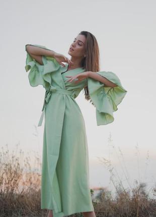 Нереально стильное платье-кардиган в длине миди  🖤