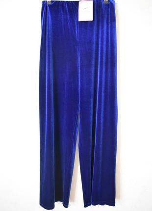 Новые красивые велюровые брюки большого размера julipa