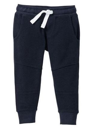 Трикотажные спортивные штаны джоггеры рост 110 116 lupilu герм...