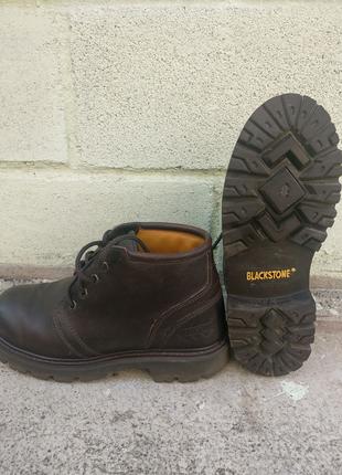Кожаные ботинки Blackstone 41 размер.
