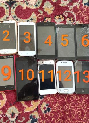 Лот 15 Смартфонов на восстановление