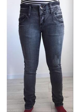 Серые джинсы, сірі джинси, темно серые джинсы от tally weijl.