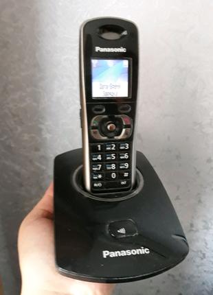 Телефон-трубка Panasonic база c 2 доп.трубками