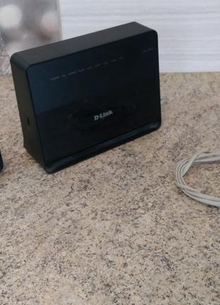 D-Link DSL-2740U – Wi-Fi роутер