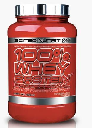 Scitec  Nutrition -100% Whey Protein Profession920 gr (Strawberry