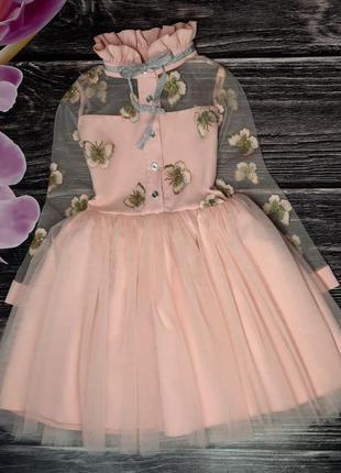 Легкое и воздушное платье