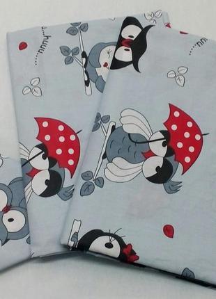 Комплект детского постельного белья в кроватку