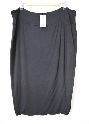Новая трикотажная юбка большого размера